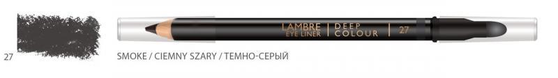 Карандаш для глаз LAMBRE Deep Colour Eye Liner №29 Starblack/Звездный черный