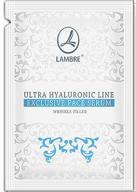 ТЕСТЕР Сыворотка для разглаживания морщин с гиалуроновой кислотой Ultra Hyaluronic Line 2мл