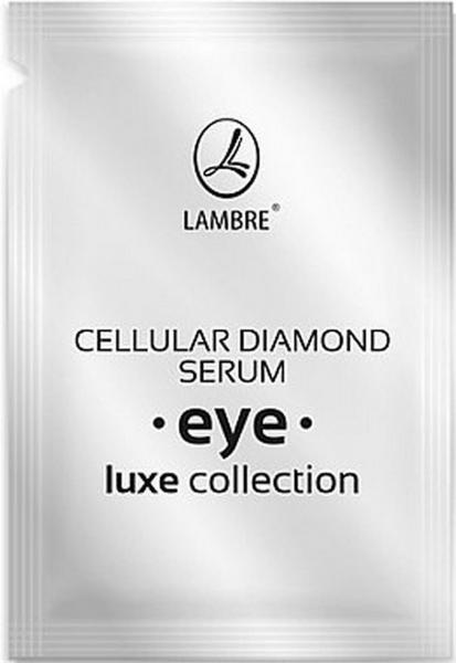 ТЕСТЕР Активная сыворотка для кожи вокруг глаз с алмазами Cellular Diamond Serum Eye LUXE Collection 2мл