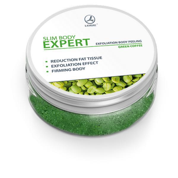 Пилинг для тела с зеленым кофе Exfoliation body peeling Slim Body Expert 150 ml