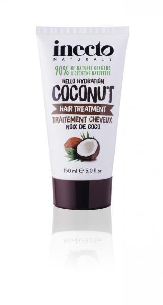 Увлажняющая маска для волос с маслом кокоса Inecto Naturals Coconut Hair Treatment 150 ml