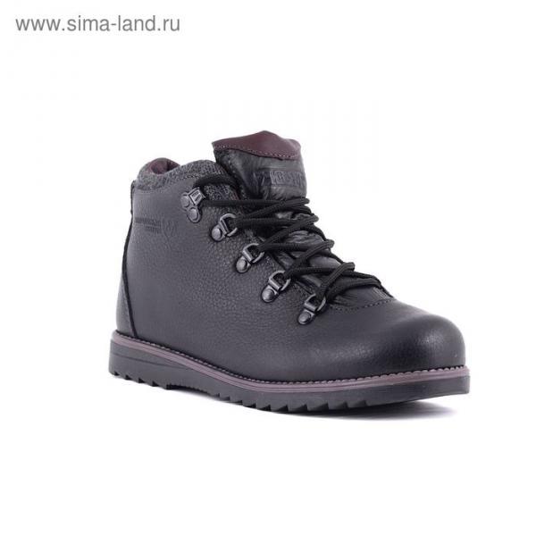 Ботинки TREK Литл Парк 95-56 мех (черный) детские (р.33)