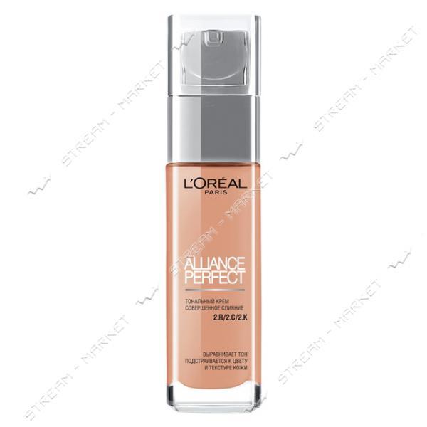"""Тональный крем для лица L""""Oreal Paris Alliance Perfect Ванильный розовый R2 30мл"""