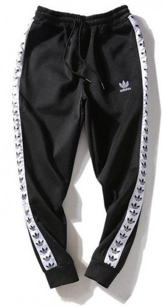 Мужские штаны Adidas (Premium-class) черные