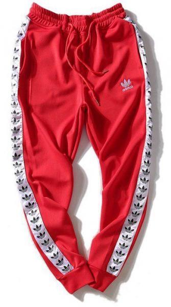Мужские штаны Adidas (Premium-class) красные