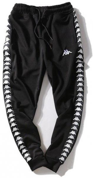 Мужские штаны Kappa (Premium-class) черные