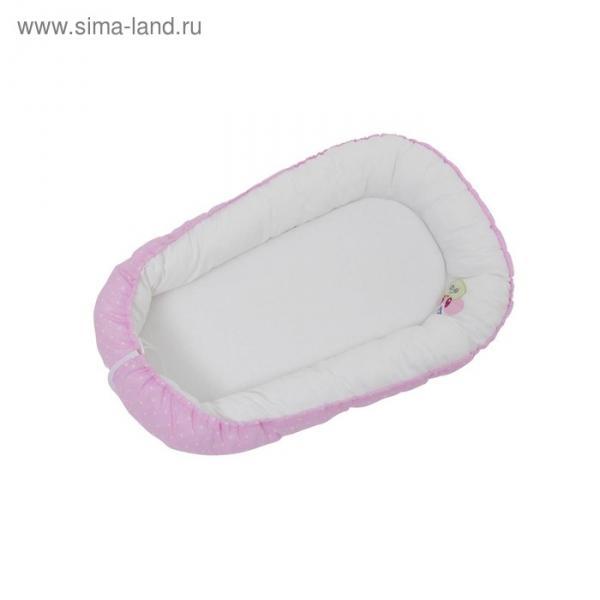 Гнёздышко «Весенняя мелодия», размер 54х90 см, цвет розовый
