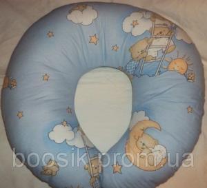Наволочки для подушки для кормления и беременных голубой