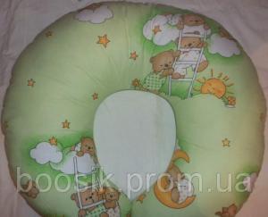 Подушка для кормления и беременных салатовый