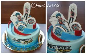 Фото Торты, Детские торты Торт Бейблейд (Beyblade)