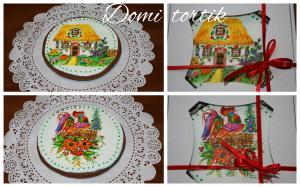Фото Пряники Пряник  украинские мотивы ручная роспись