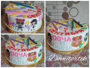 Фото Торты, Тематические торты Торт 1 Сентября