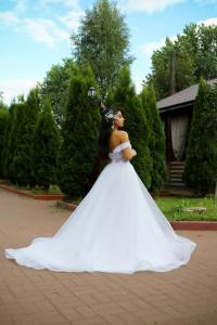 Фото Свадебные платья Непышное легкое свадебное платье Доротея