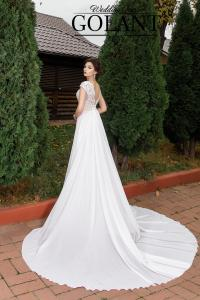 Фото Свадебные платья Легкое свадебное платье с разрезом Этель