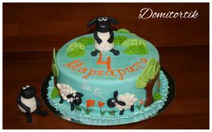 Фото Торты, Детские торты Торт баранчик Шон