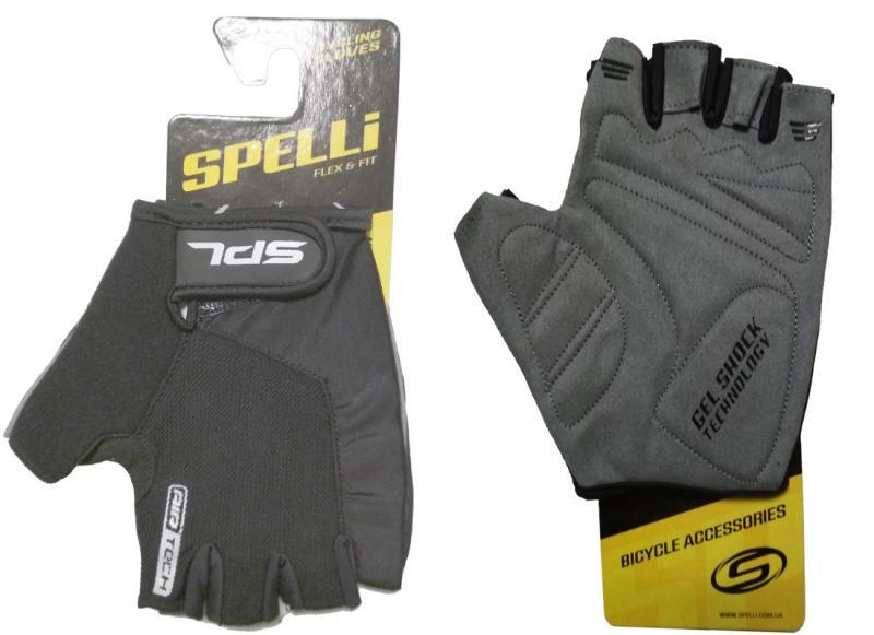 Рукавички Spelli SBG-1457 (Black)