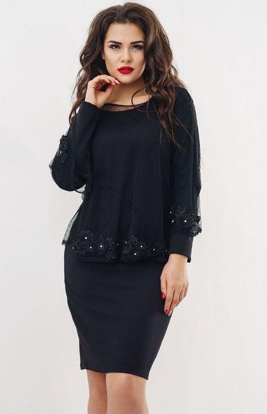 Платье+блузка 150256