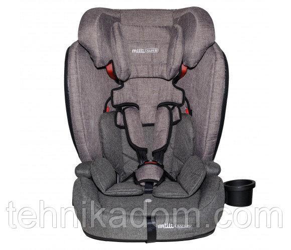 Автокресло детское Bambi YY11-11 Серо-бежевый (intYY11-11)