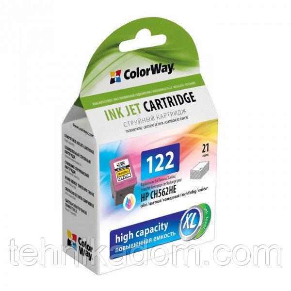 Картридж CW HP CH562HE (No.122) col. CW-H122XLC