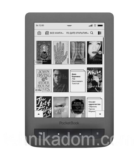 Электронная книга PocketBook 626 Touch Lux 3 Grey (PB626(2)-Y-CIS)
