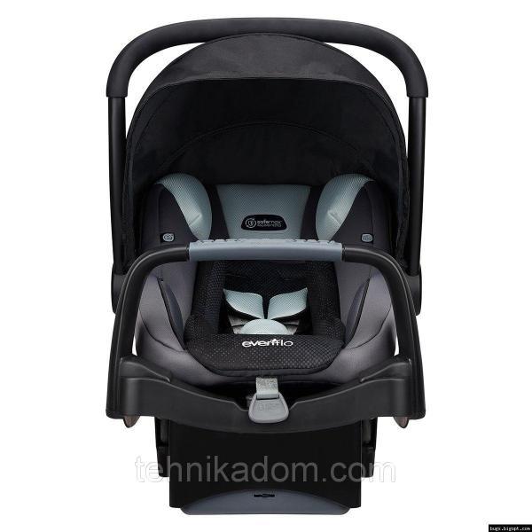 Evenflo® автокресло SafeMax Infant Car Seat цвет - Shiloh (группа от 1,8 до 15,8 кг)