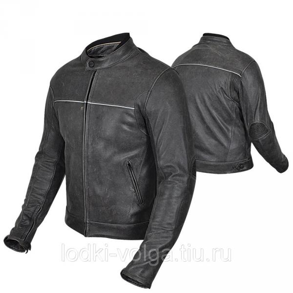 Куртка мотоциклетная (кожа) HIZER 543