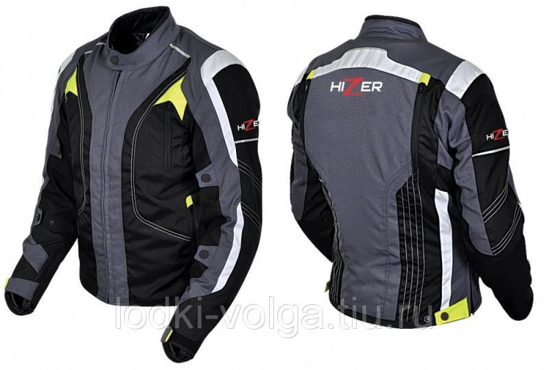 Куртка мотоциклетная (текстиль) HIZER 505