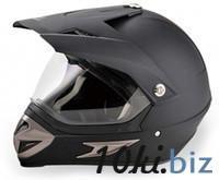 Шлем мото HIZER 613 ((M) #1 matte-black) Мотошлемы в Москве