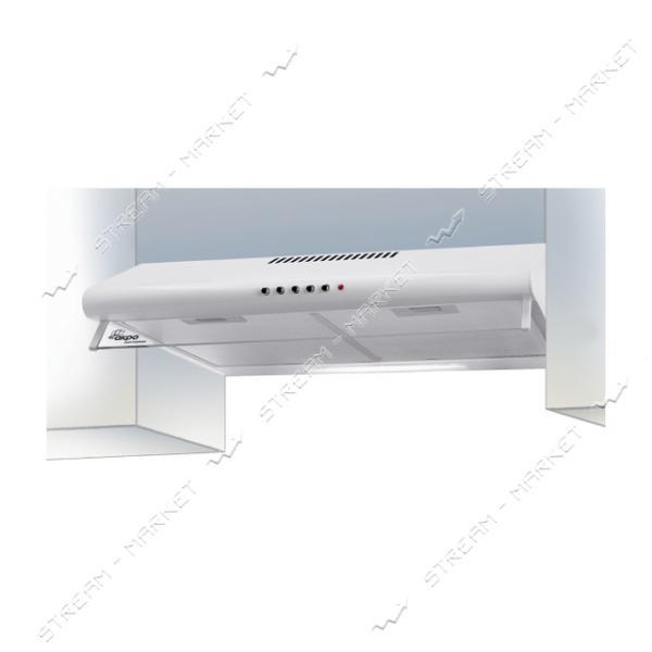 Кухонная вытяжка АКРО PL 60 Плоская белая