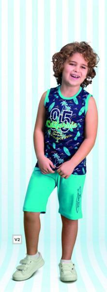 Комплект для мальчика майка и шорты ROLYPOLY