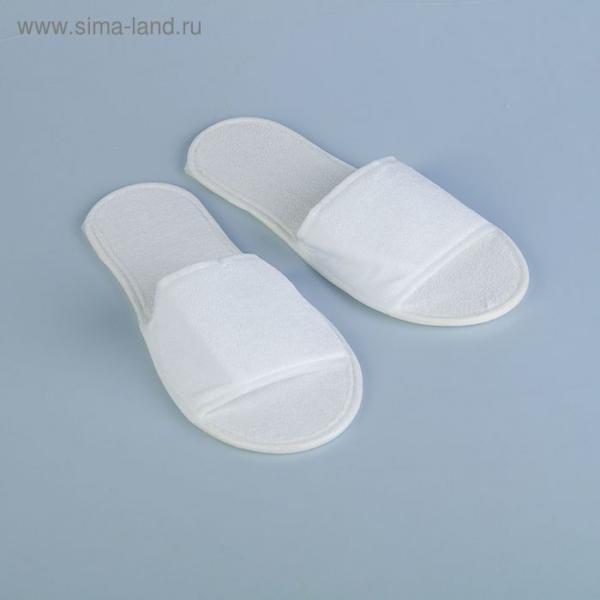 Тапочки махровые, хлопчатобумажные 100%  43 размер