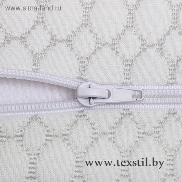 Фото Текстиль, Детский текстиль, Подушки Анатомическая подушка Rosava Comfort M1 50х30 см, бел SilverIons Memory Foam, 75%пэ, 25 виск   36247