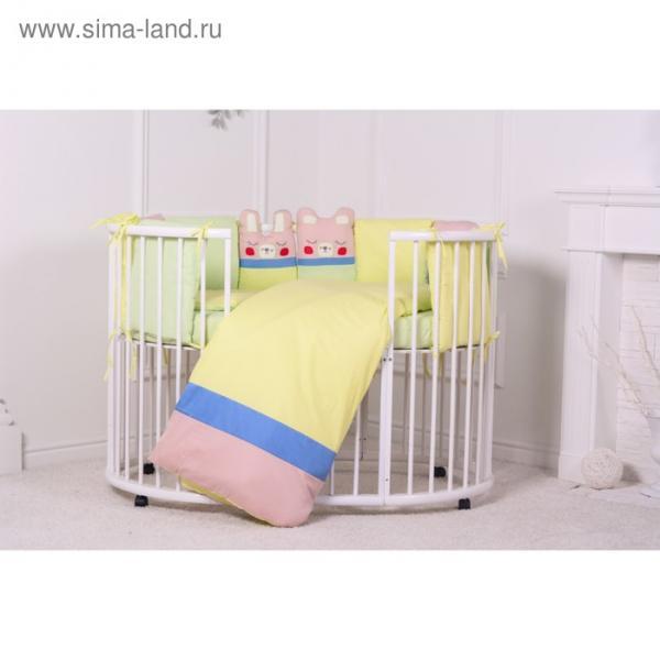 """Комплект в кроватку """"Дрема"""" (6 предметов), хл100%"""