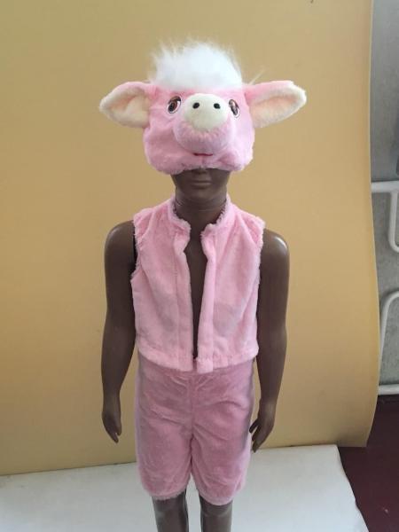 Детский карнавальный (новогодний)  костюм Поросенок Свинка