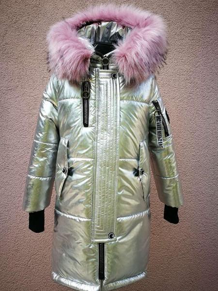 Пальто зимнее для девочки.