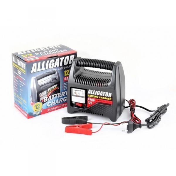 ALLIGATOR AC803 Зарядний пристрій  АКБ/6А,12V