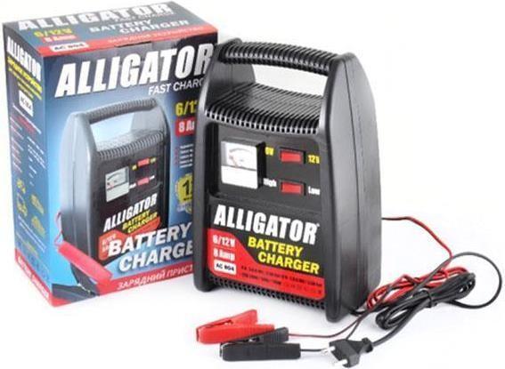 ALLIGATOR AC804 Зарядний пристрій  АКБ/8А,6-12V