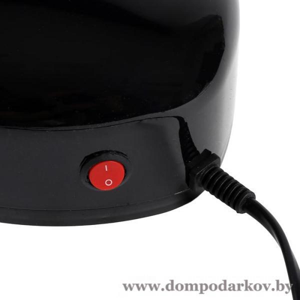 Фото ВСЕ ТОВАРЫ ЗДЕСЬ >>>, Красота и уход, Лампы для маникюра Лампа для гель-лака LuazON LUF-03, LED, 3 Вт, 28 светодиодов, чёрная