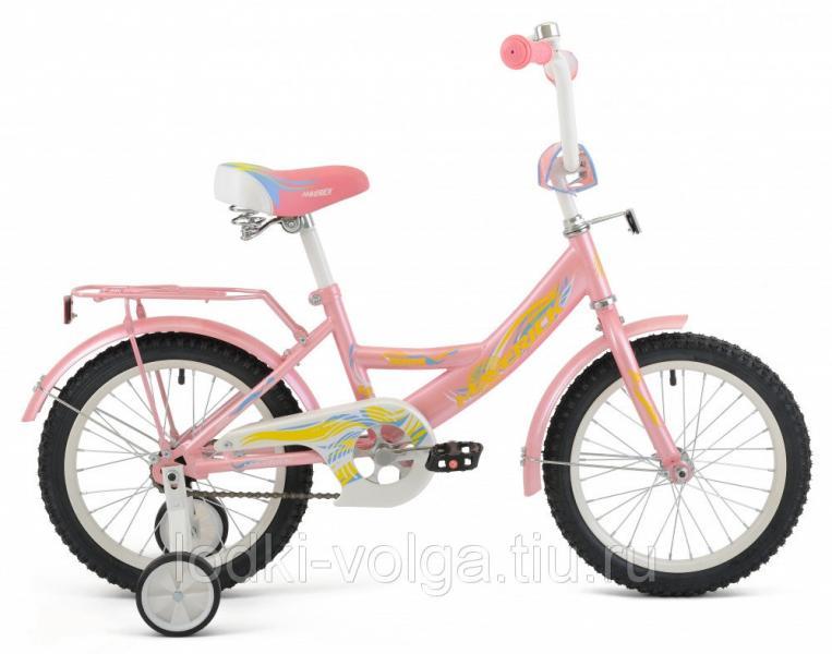 """Велосипед MAVERICK Faster_18"""" P, 10"""" Steel 1-ск. (розовый)"""