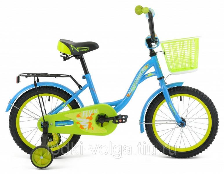 "Велосипед MAVERICK Fly_18"" P, 10"" Steel 1-ск. (синий)"