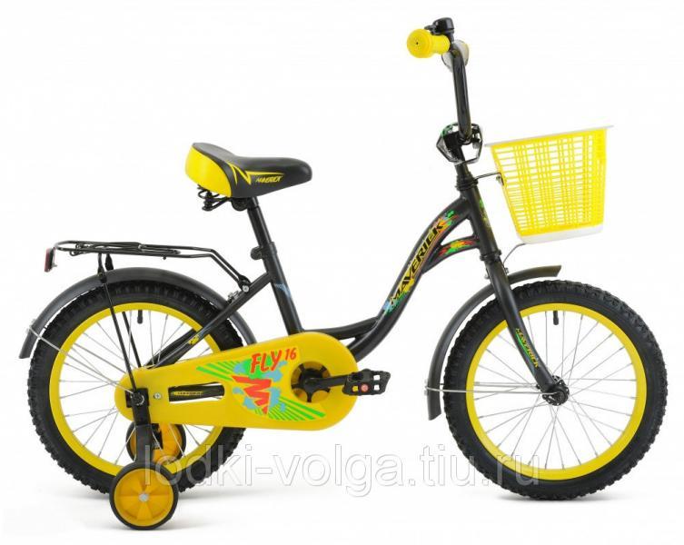"""Велосипед MAVERICK Fly_20"""" P, 10,5"""" Steel 1-ск. (матово-черный)"""