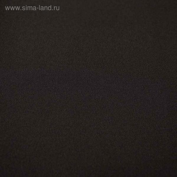Ткань костюмная Пикачо, ширина 150 см, цвет чёрный 330 г/п.м.