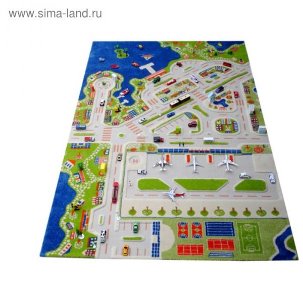"Ковёр игровой ""Мини Сити"", размер 150х220 см"