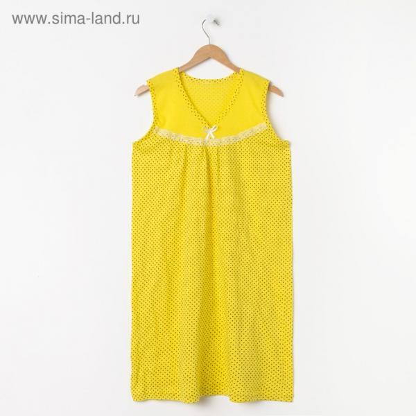 Сорочка женская, цвет МИКС, р-р 52