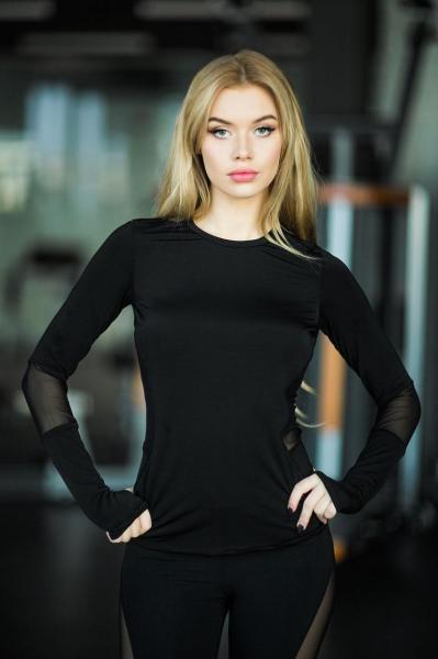 Рашгард Basic Black Designed for fitness Размер M