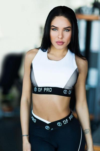 Топ Bra PRO White Designed for fitness Размер M