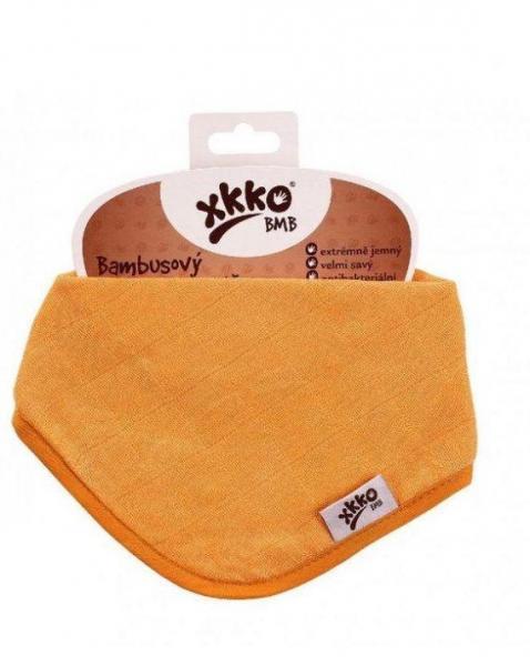 Нагрудник бамбуковый XKKO BMBBND003 оранжевый
