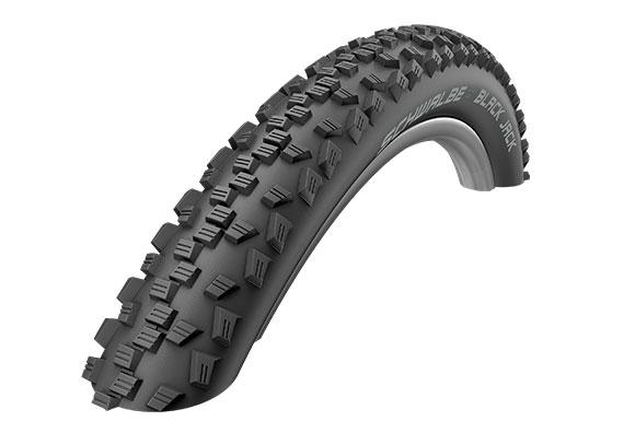 Фото ЧАСТИНИ КОЛЕСА, Покришки Покришка 26x2.10 Schwalbe Black Jack Active K-Guard