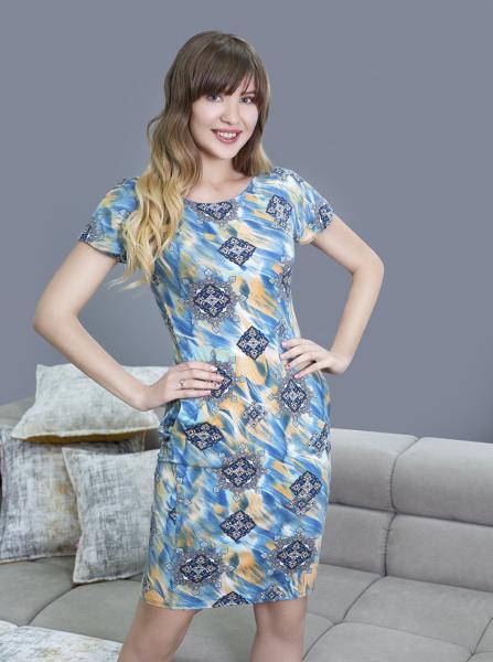 Фото Повседневная одежда женская Летнее платье из вискозы Flash