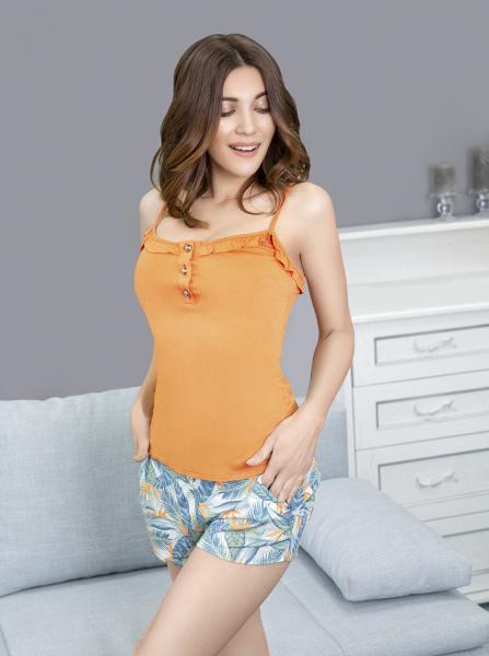 Фото Повседневная одежда женская Летний комплект одежды Savanna с шортами